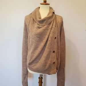 Ann Demeulemeester alpaca/wool knit cardigan
